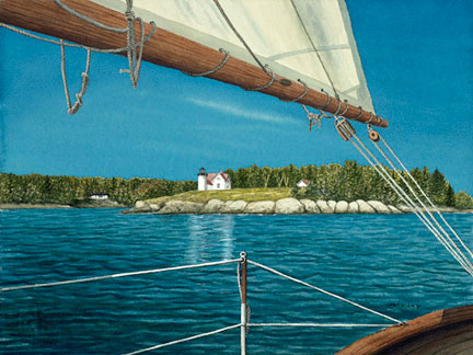 Clear Sailing - Giclee