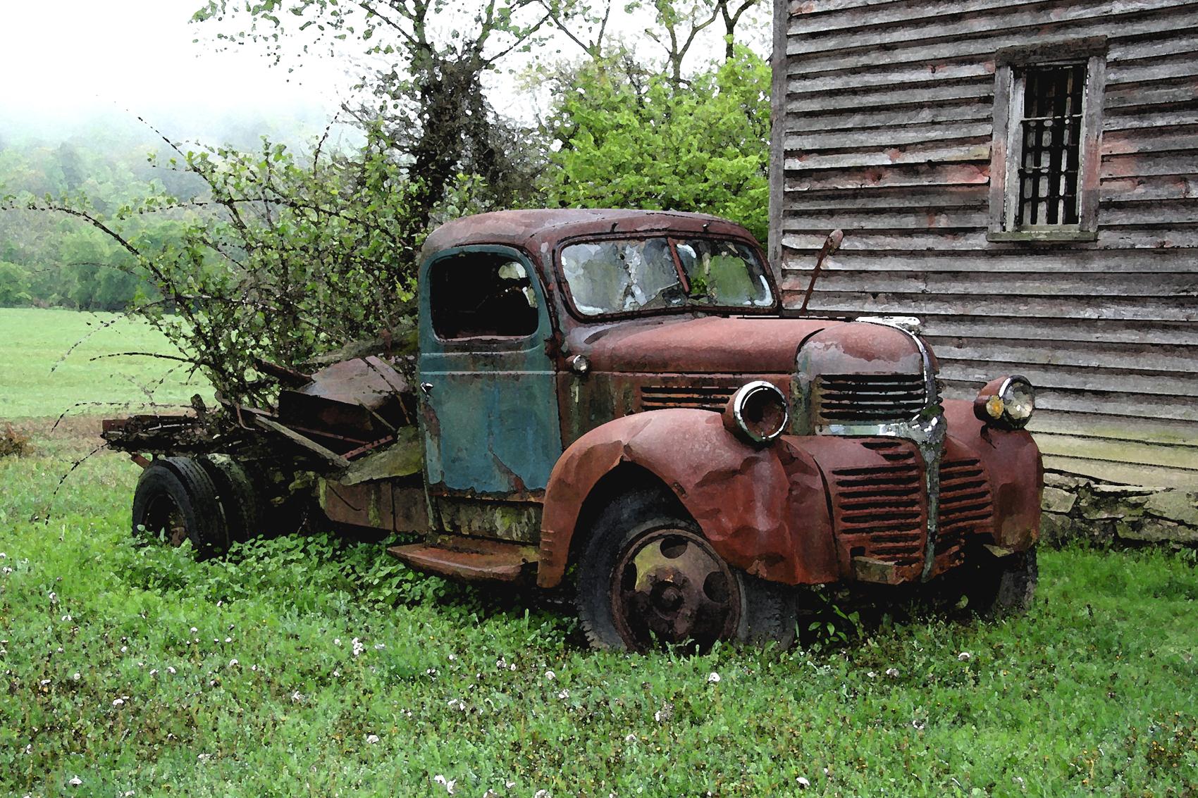 Old Dodge Trucks >> Old Dodge Truck