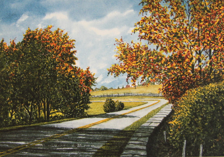 Autumn on the Parkway - Limited Edition