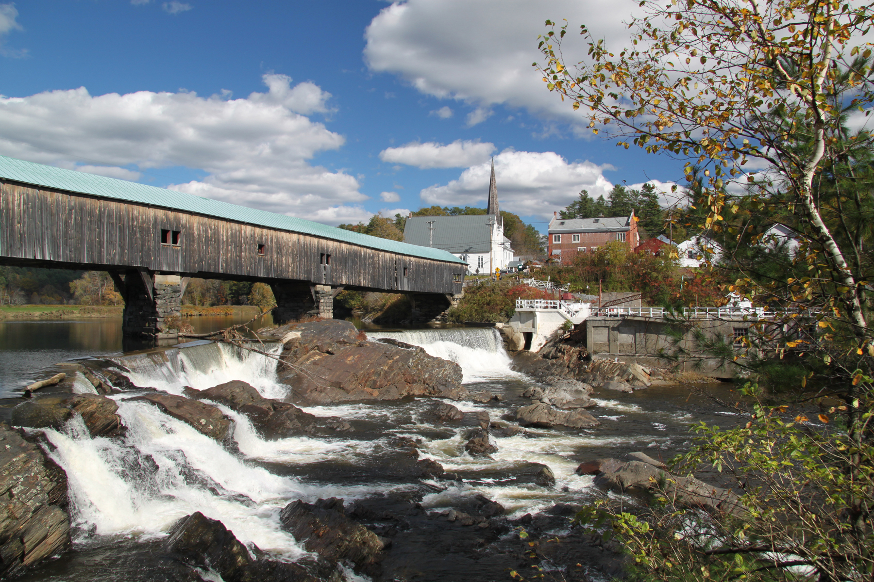 Bath, New Hampshire Covered Bridge