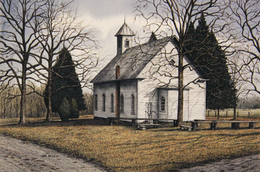 The Little Church at Whynot - Limited Edition