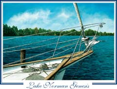 Lake Norman Genesis Postcards