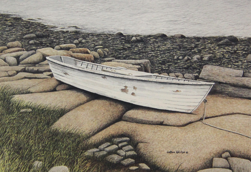 Low Tide at Spruce Head - Limited Edition