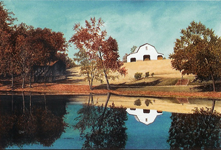 Murray's Mill Pond - Giclee