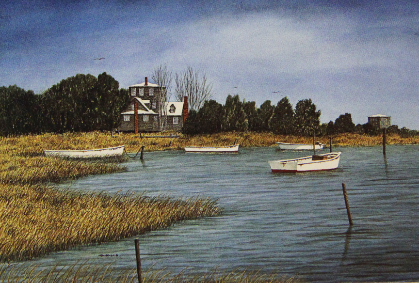 Ocracoke at Rest - Limited Edition