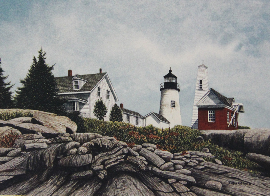 Pemaquid Point Light - Limited Edition