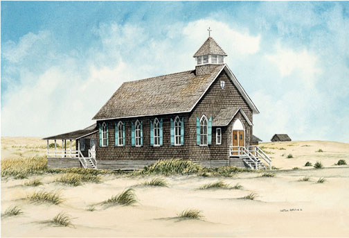 St. Andrew's By-The-Sea - Giclee