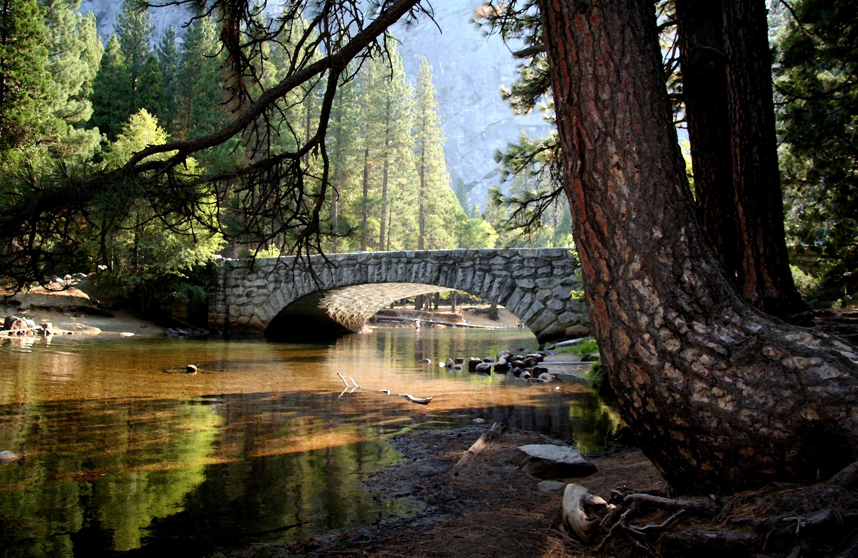 Stone Bridge at Yosemite